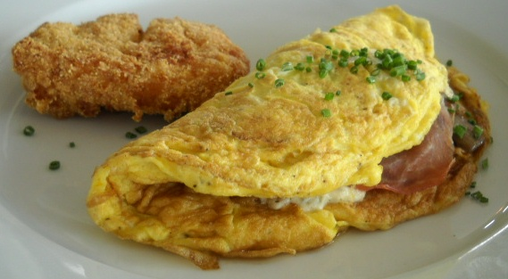 Omelet preferred by Michael Phelps